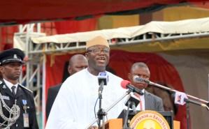 The Ekiti Governor, Kayode Fayemi. [PHOTO CREDIT: Official twitter handle of Kayode Fayemi.]