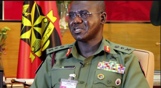 Chief of Army Staff, Tukur Buratai. [PHOTO CREDIT: Official webpage of the Nigerian Army]