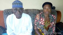 Mr and Mrs Ogbanje, Ochanya's parents