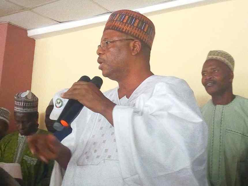 Photo of the licence lawmaker, Ibrahim Kemba