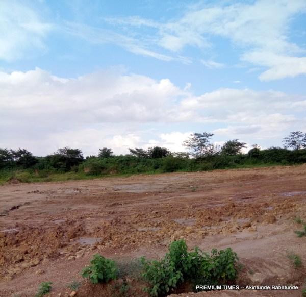 Igbojaiye Earth Dam site