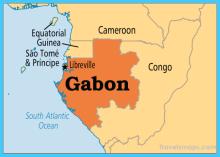 Map of Gabon [Photo: Pinterest]
