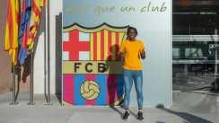 Super Falcons forward, Asisat Oshoala, has joins Barcelona Women's club