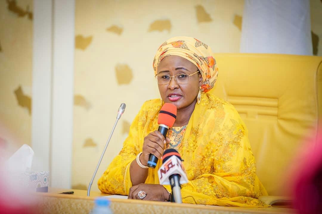 Aisha Buhari joins call for Adedayo's sack as Senate President's spokesperson