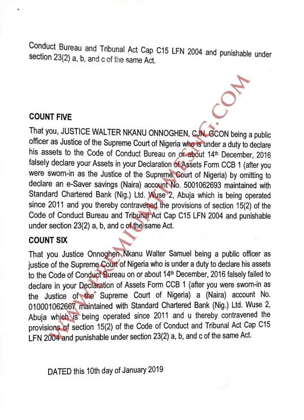 Code of Conduct Tribunal Trail on CJN Walter Onnoghen 3