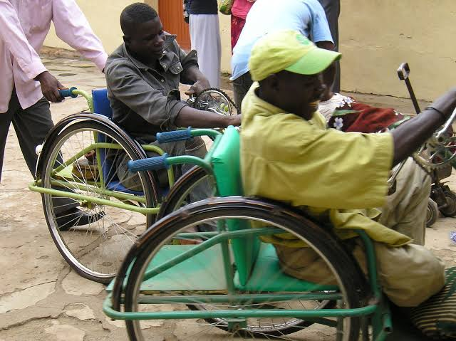 Persons with disabilities used to tell the story. [PHOTO CREDIT: Ventures Africa] rights