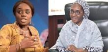 Kemi Adeosun and Zainab Ahmed