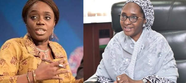 Kemi Adeosun and Zainab Ahmed