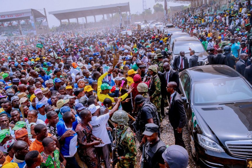 APC Ogun Rally [Photo: @BashirAhmad]