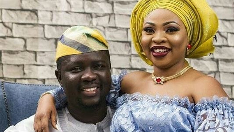 Comedian Seyi Law and wife