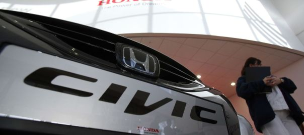Honda Civic plant used to illustrate the story (Photo Credit: Sky News)