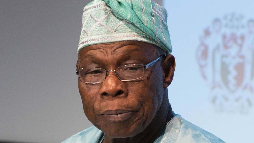 Former president Olusegun Obasanjo.