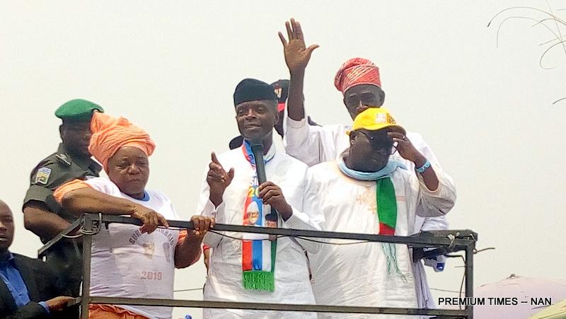 Vice President Yemi Osinbajo in Ijebu-Ode