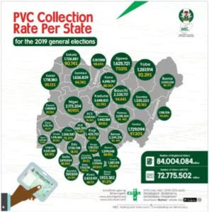 PVC Collection per state