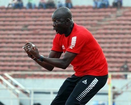 Super Sand Eagles Assistant Coach,Chukwuma Agbo.