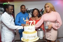 Florence Ita-Giwa celebrates 73rd birthday in Lagos