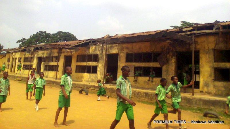 Lagos ramshackle school where hoodlums defecate in classrooms - Report