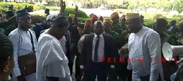 Aregbesola Dancing