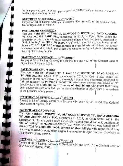 Charge Sheet 7