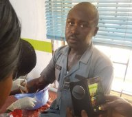 Customs Officer that was attacked by thugs