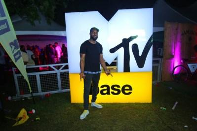 DJ Neptune at MTV Base 14th year anniversary celebration