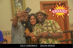 Wale Adenuga's film Knockout