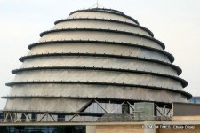 Kigali Convention Centre in Rwanda.