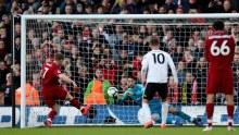 James Milner scoring from the penalty spot