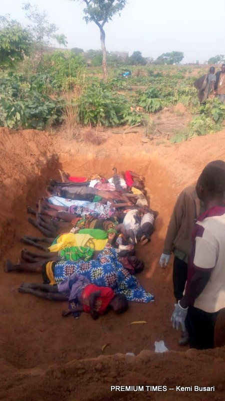 Mass grave for deceased in second attack on Ungwar Barde