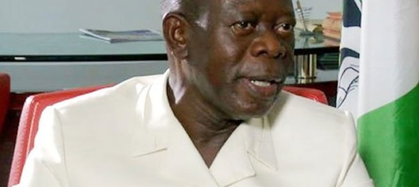 National Chairman of the All Progressives Congress (APC), Adams Oshiomole. [PHOTO CREDIT: ThisdayLIVE]
