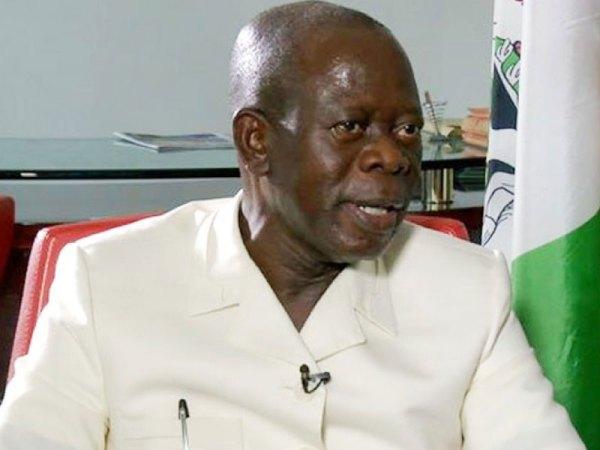 National Chairman of the All Progressives Congress (APC), Adams Oshiomole. [PHOTO CREDIT: ThisdayLIVE]