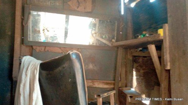 Pa Fagunwa's shop