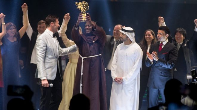 Peter Tabichi has been crowned The World's Best Teacher Photo courtesy Varkey Foundation