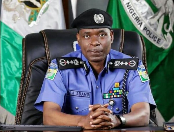 The IGP of Police, Mohammed Adamu. [PHOTO CREDIT: Official twitter handle of the Nigerian Police]