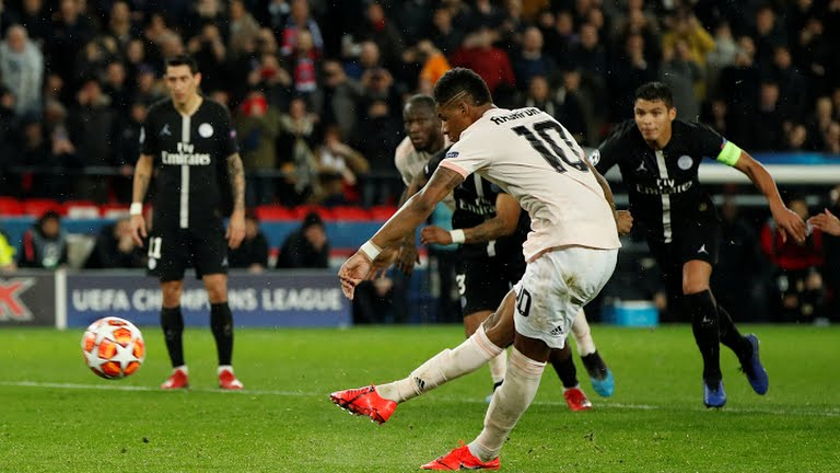 Rashford Spot kick for to help Manchester United Advance to the Quarter Finals