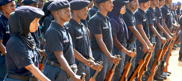 Somali Police Force (Photo Credit: Twitter)