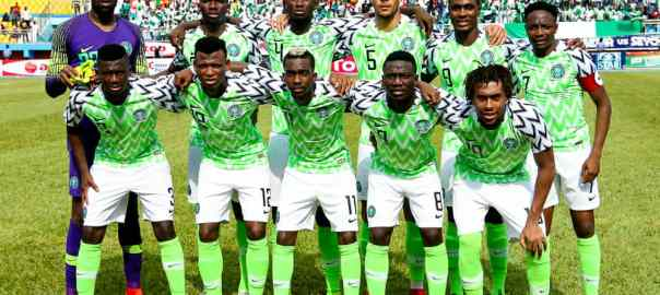 Super Eagles starting XI agianst Seychelles PHOTO CREDIT PREMIUM TIMES