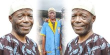 Veteran Yoruba movie actor, Alabi yellow . Photo GTV.NG