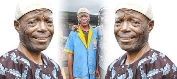 Veteran Yoruba movie actor, Alabi yellow . Photo GTV.NG