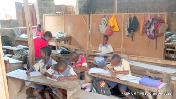 Zion Africa school annex class cross section view