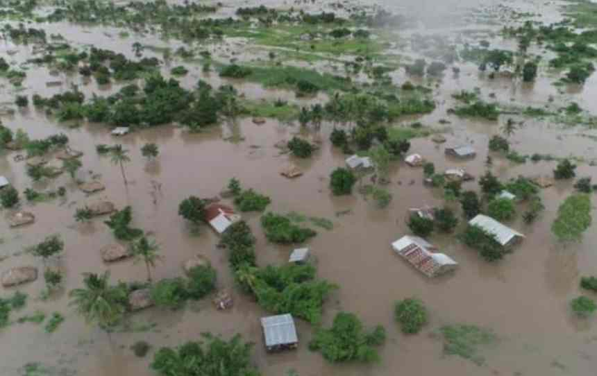 Aerial view of destruction created by the cyclone [Photo: ZWNEWS]