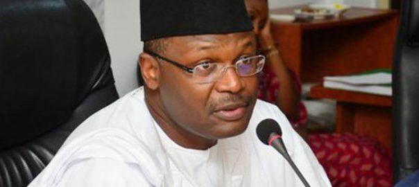 INEC Chairman, Mahmood Yakubu