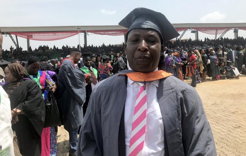 Bala Magaji, NOUN's best graduating student