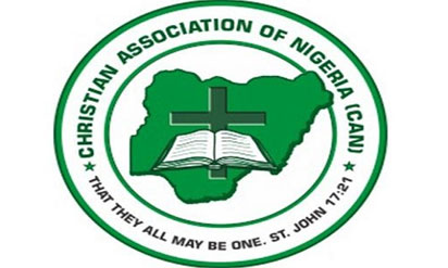 The Christian Association of Nigeria (CAN) logo.