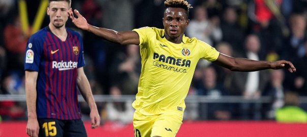 Samuel Chukwueze . [PHOTO CREDIT: @LaLigaEn]