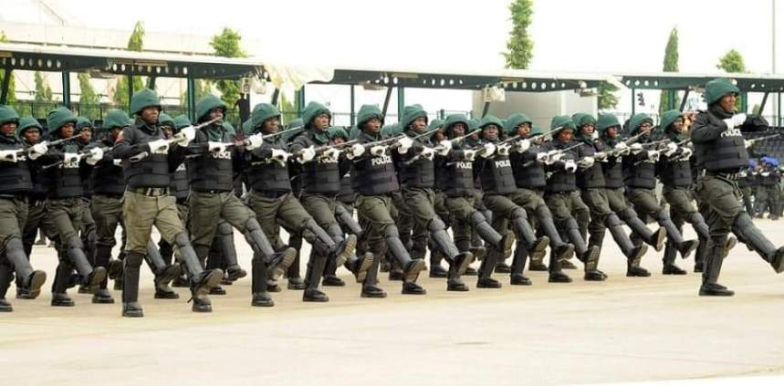 Nigeria Police officers
