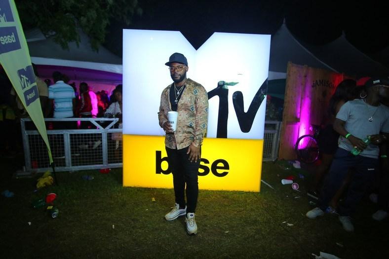 Falz at MTV Base 14th year anniversary celebration [Photo Premium Times]