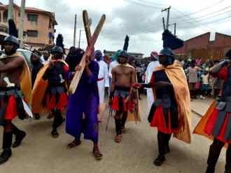 Catholic community celebrates Good Friday in Lagos (PHOTO: Chinedu Lazarus)