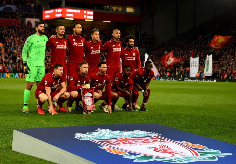 Liverpool FC team. [PHOTO CREDIT: Official Twitter handle of Liverpool]