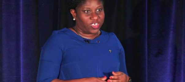 The Co-ordinator of the Wole Soyinka Centre for Investigative Journalism (WSCIJ), Motunrayo Alaka. [PHOTO CREDIT: YouTube]